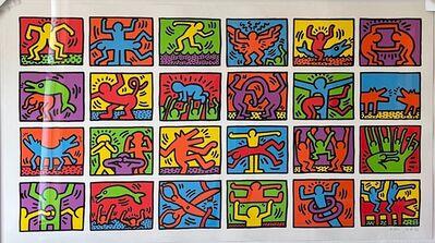 Keith Haring, 'Retrospective', 1989