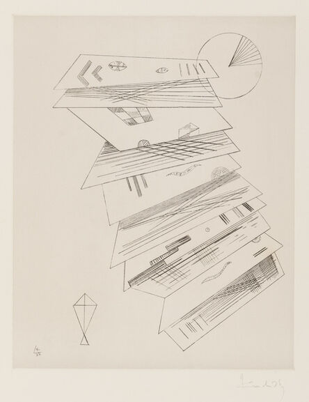 Wassily Kandinsky, 'Second Etching for Editions Cahiers d'Art', 1932