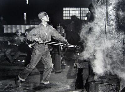 Jack Delano, 'In an Iron Foundry, Washington, Pennsylvania', 1941