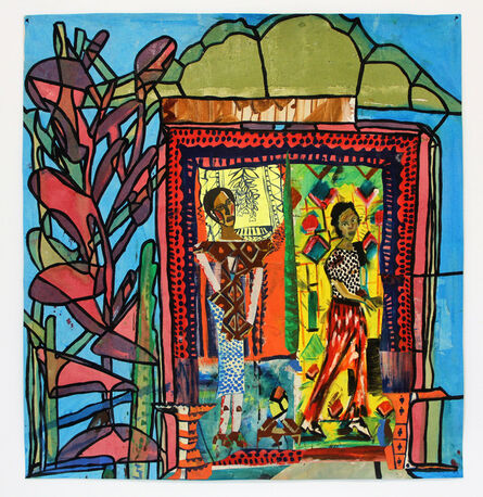 Paula Wilson, 'Entry to the Stain Glass Row', 2017