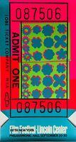 Andy Warhol, 'Fifth New York/Film Festival Lincoln Center (Feldman & Schellmann, II.19)', 1967