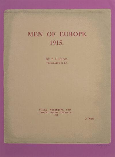 R. B. Kitaj, 'Men of Europe 1915', 1972