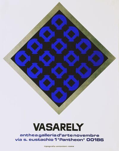 Victor Vasarely, 'Anthea Galleria D'arte', ca. 1971