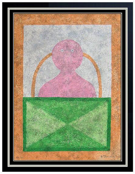 Rufino Tamayo, 'Torso En Rosa', 1970-1989