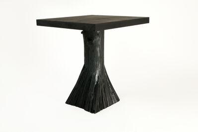 Johannes Hemann, 'Pressed Wood Black Solid Side Table', 2014