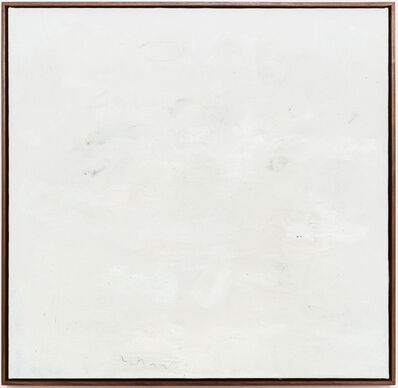 Jared Ginsburg, 'Untitled painting (writing and walking) II', 2020-2021