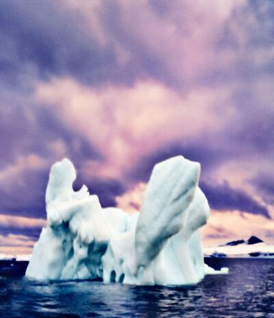 Osceola Refetoff, 'Proteus Rising, Antarctica', 2020