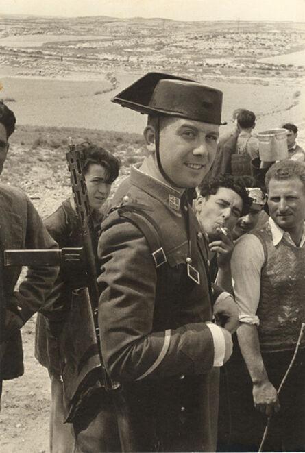 Henri Cartier-Bresson, 'Spanish Soldier, Aragon, Spain', 1953/1955
