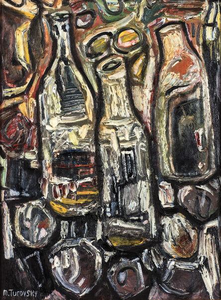 Mikhail Turovsky, 'Still Life with Bottles', ca. 2000