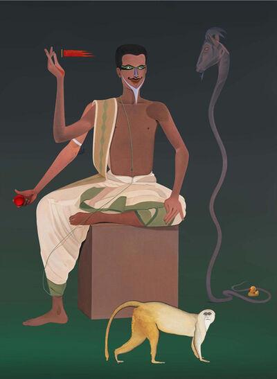 Surendran Nair, 'Alibis of the Cognates - I', 2015