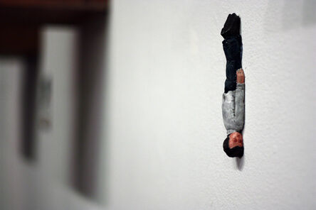 Isaac Cordal, 'Lehman Brothers', 2013