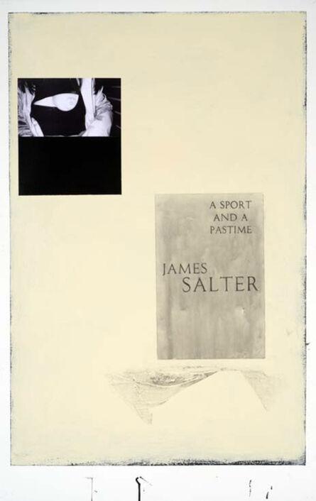 Julião Sarmento, 'Woman, Book, Black and Camomile', 2009
