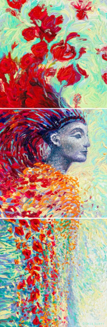 Iris Scott, 'Egyptian Triptych (Embellished Artist's Proof)', 2018