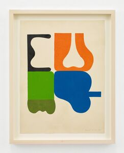 Ilona Keserü, 'Detail of Message', 1970