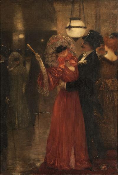 Henri Gervex, 'Au bal masqué de l'opera de Paris', ca. 1985