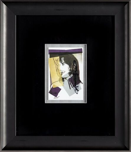 Andy Warhol, 'Andy Warhol  Mick Jagger FS.II.142 Hand Signed Gallery Announcement Invitation', 1970-2000