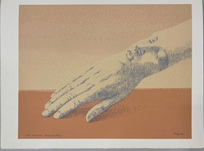 René Magritte, 'Les bijoux indiscrets', 1975