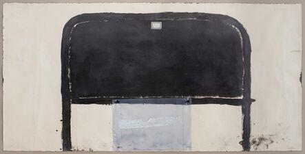 Antoni Tàpies, 'Cama marrón', 1977