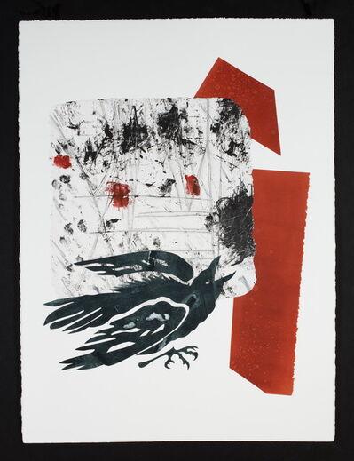 Ramona Sakiestewa, 'Raven @ the Big Bang A', 2021