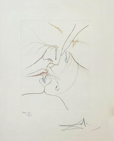 Salvador Dalí, 'LE BAISER (THE KISS)', 1974