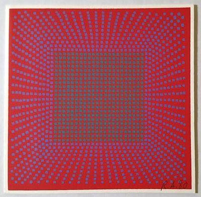 Richard Anuszkiewicz, 'Annual Edition', 1980