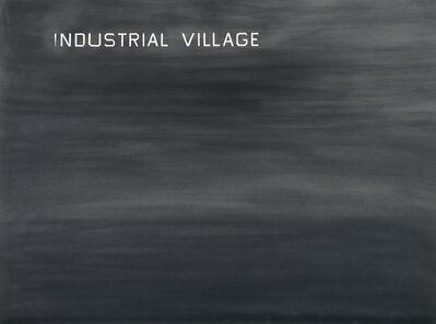Ed Ruscha, 'Industrial Village', 1982