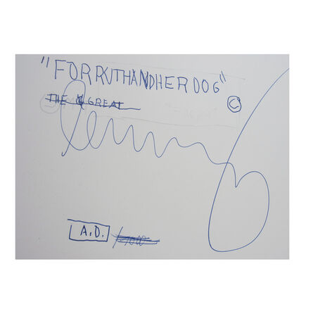 "Jean-Michel Basquiat, '""Drawings"" Edition Bruno Bischofberger', 1985"