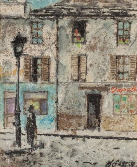 Henry Gasser, 'Street Corner', ca. 1950s
