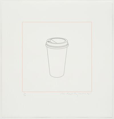 Michael Craig-Martin, 'Takeaway cup', 2015
