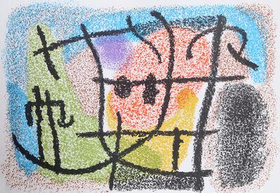Joan Miró, 'Untitled from Cartones', 1965