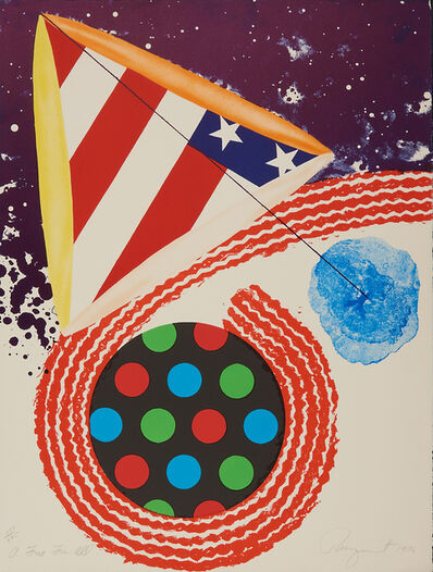 James Rosenquist, 'A Free for All', 1976