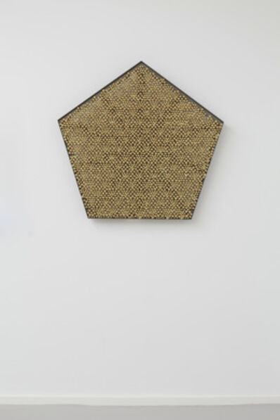 Haegue Yang, 'Sonic Rotating Geometry Type G – Brass Plated #20', 2014