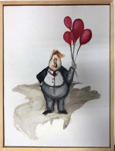 Sandra Ramos, 'Balloons, from the series Trumpito, Homage to Thomas Nast', 2017