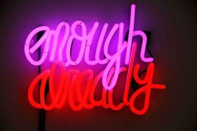 Deborah Kass, 'Enough Already', 2012