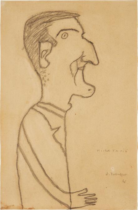 Jean Dubuffet, 'Michel Tapié', 1946