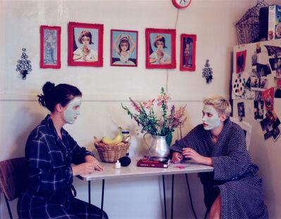 Tammy Rae Carland, 'Masks and Nail Care', 1999