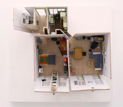 Linus Riepler, 'Wohnung Gfrornergasse (kurz vor dem Auszug)', 2021