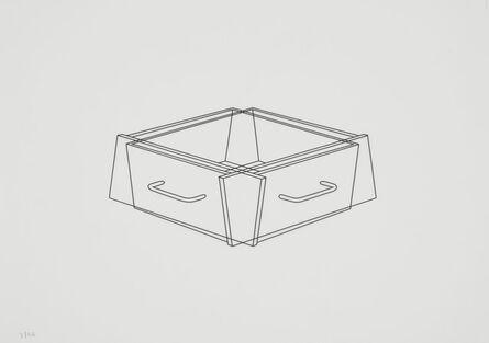 Michael Craig-Martin, 'Untitled (drawers 4)', 1990