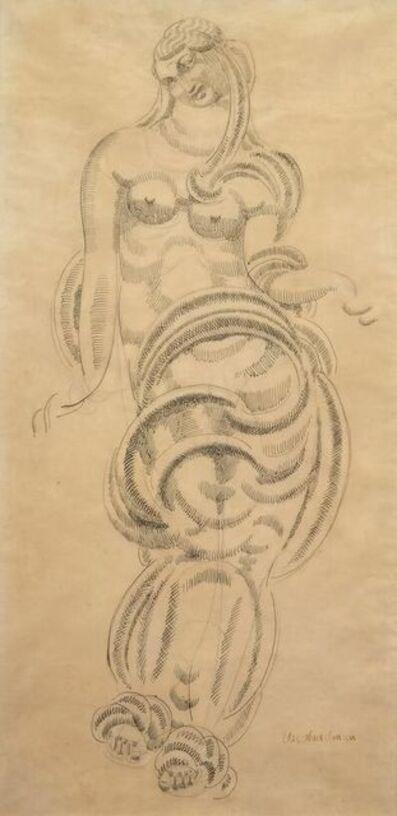 Elie Nadelman, 'Standing Draped Female Figure', 1905