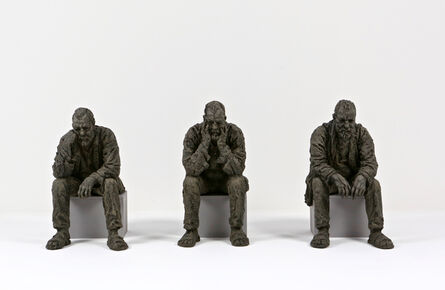 Sean Henry, 'Maquette for Seated Man 1, 2, 3', 2016