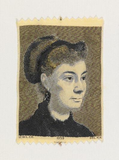 Warner-Artex, 'Portrait of a Young Woman (1867) by Edgar Degas (1834-1917)', 1959