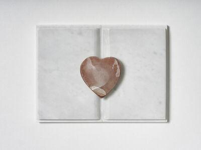 Mirella Bentivoglio, 'Senza titolo (Libro con cuore)', 1990