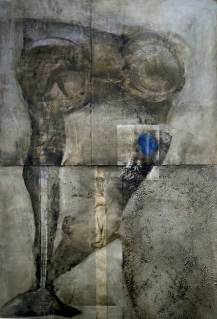 Jeff Bertoncino, 'Walking in the blue', 2019