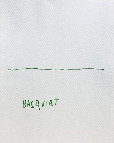Jean-Michel Basquiat, 'BASQUIAT Akira Ikeda Gallery, Tokyo 1985', 1985