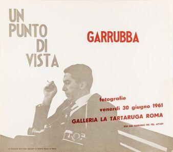 Caio Mario Garrubba, 'Un punto di vista', 1961
