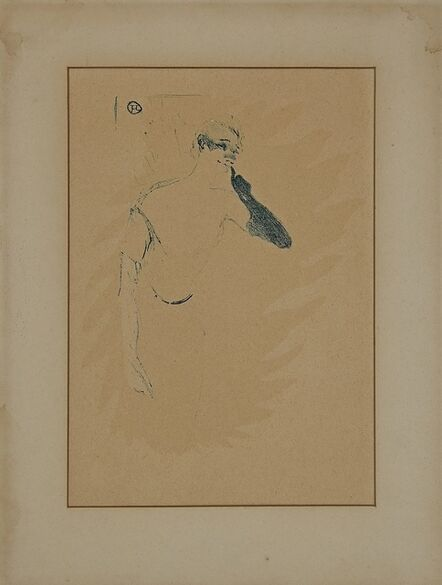 Henri de Toulouse-Lautrec, 'Yvette Guilbert', Mid-20th Century