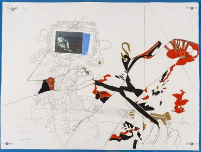 Wesley Duke Lee, 'O Alce (Sapato com fita amarrando) - 37', 1966