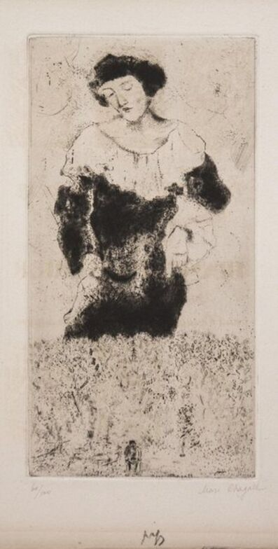 Marc Chagall, 'Bella', 1924