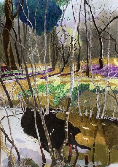 Per Adolfsen, 'Spring by the Stream', 2021