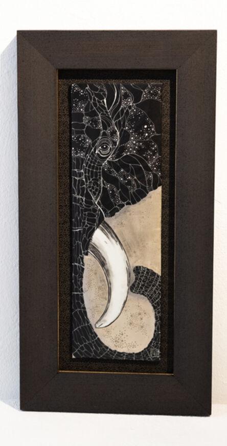 Masako Inoue, 'Ceramic Picture_Elephant', 2019